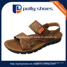 Mode de sécurité en gros Hommes Sandale en cuir de haute qualité