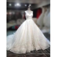 Платья Производителя На Заказ Свадебные Платья Бальное Платье Цвета Слоновой Кости Тюль Образца 2018 Для Новобрачных