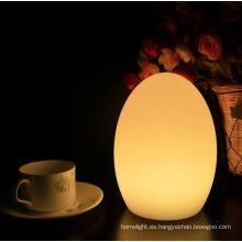 decorativo irrompible color cambiable LED lámpara de mesa