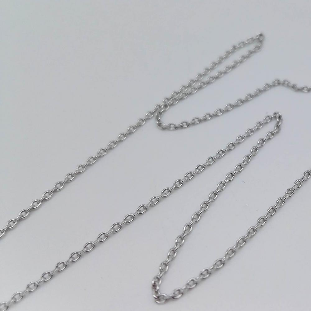Silver Cross Chain