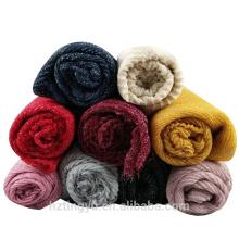 Top selling women muslim fashion rayon maxi scarf shawl women cotton pleated shimmer hijab muslim