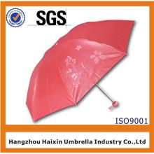 Создай свой собственный Красный Выдвиженческий складывая зонтик с логотипом печать