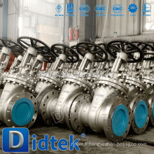 Vanne de retenue soudée à l'huile et au gaz Didtek