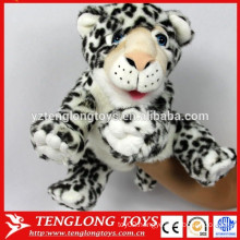 Cute toys plush animal tiger hand puppet for sale