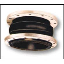 EPDM / NBR / Viton Les joints de dilatation en caoutchouc de sphère simple ANSI150