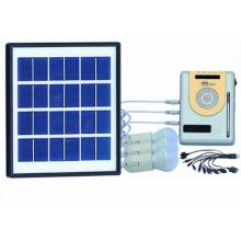 Solar Power Radio LED-Beleuchtungssystem-Kits
