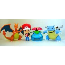 ICTI Pokemon Индивидуальные мини-фигурки из ПВХ для фигурок