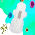 Leakage protection sanitary napkin with cotton