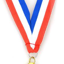Cintas medallas militares personalizadas de tela impresa finamente procesada