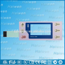 Mit LCD-Display-Fenster Membrantastatur