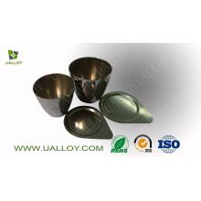 Creuset en nickel à haute pureté de 99,6% (30 ml, 50 ml, 100 ml)
