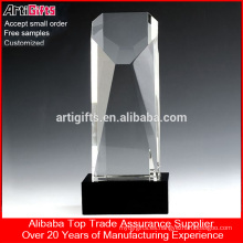 Best price custom Crystal singing trophy