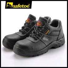 Men Genuine Leather Safety Shoes with Ce En345