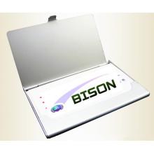 Рекламные подарки Алюминиевый держатель для именных карт