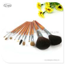 2013 professionelle Kosmetik Pinsel mit Bambus zu behandeln