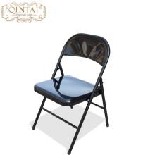 Fuerte todo en estructura plegable de metal comedor silla