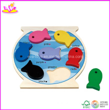 2015 Colorful Wooden Puzzle & Wooden Toys in Lowesr Price W14c070