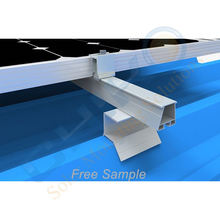 Best Solar Mounting Clamp Solar Metal Roof Mount Clamp Trapezoidal Metal Roof Clamp