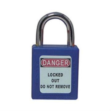 Certificação CE aprovado 25mm shackle curto aço inoxidável manilha ABS corpo cadeado de segurança
