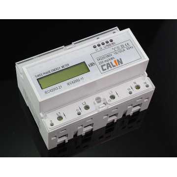 Three Phase DIN Rail Smart Electricity Meter