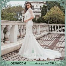Reizvolles Hochzeitskleid-Nixe-Brautkleid vestido de noiva Hochzeitskleid erstklassige Luxuxhochzeitskleidkleider