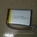 Neues Produkt 3.7V 603450 1200mAh Li-Polmer Batterie Lithium-Ionen-Akku
