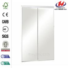 Perfil de alumínio de aço Interior portas deslizantes