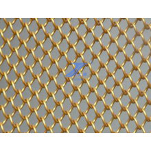 Decorative Brass Chain Link Wire Mesh (TS-E140)