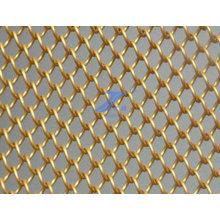 Decorative Brass Chain Link Wire Mesh (TS-E140)