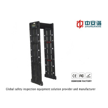 Detector de metales de alta sensibilidad de zona de puerta de alta sensibilidad para el aeropuerto / banco