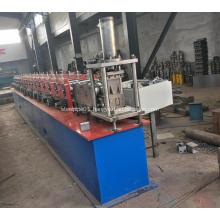 Steel strip u channel track bending machine