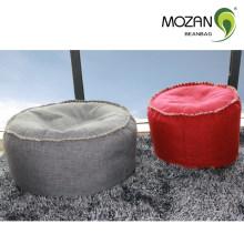 Tejido de tela de frijol bolsa silla sofá