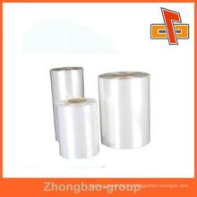manufacturer food grade transparent PE wrap film for food and fruit packaging
