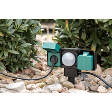 Garden Socket with Dawn Sensor