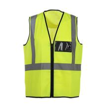 Gilet de sécurité pour vêtements de travail haute visibilité avec norme EN20471