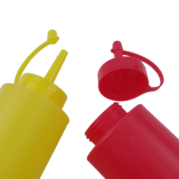 Condiment squeeze bottle
