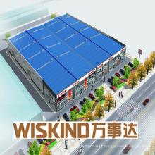 Garagem de aço Waffind Warehouse Prefab