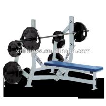 Hammer Strength Flat Bench Weight Storage