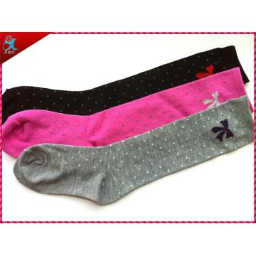Meados de bezerro Inverno menina moda meias meias de compressão