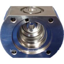 CNC OEM Machined 5axis Titanium CNC Machining Parts