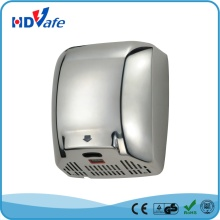 Stainless Steel Carbon Brush LED Indicator Automatic Hand Dryer for Bathroom