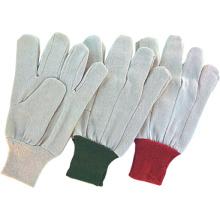 Polyester Strick Handgelenk Bohrer Baumwolle Arbeitshandschuh