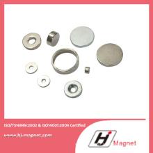 Alta qualidade personalizada N35-N52 anel permanente NdFeB/ímã do Neodymium para motores
