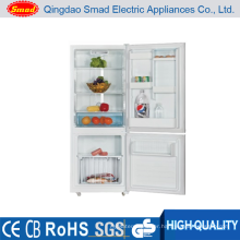 HD-368W Stainless steel No frost fridge freezer with LED light