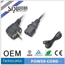 Precios del cable del SIPUO Europa ac power cable 220v