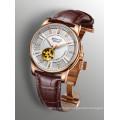 Jewellery Skeleton Automatic Luminous Men′s Wrist Watch