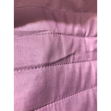 Pink 2cm Stripe Fabric Microfiber Ultrasonic