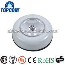 plastic 1LED round push light