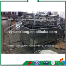 China Água de alta pressão Spray Fruit Vegetable Washing Machine