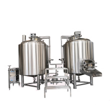 5 barrel stainless steel pilot brewing system equipment whirlpool beer machinery line